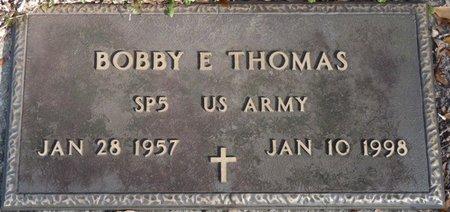 THOMAS (VETERAN), BOBBY E (NEW) - Wakulla County, Florida | BOBBY E (NEW) THOMAS (VETERAN) - Florida Gravestone Photos