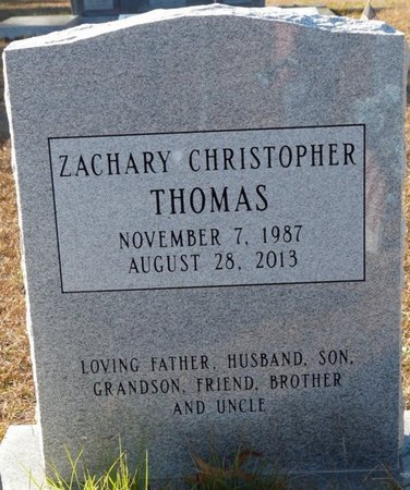 THOMAS, ZACHARY CHRISTOPHER - Wakulla County, Florida | ZACHARY CHRISTOPHER THOMAS - Florida Gravestone Photos