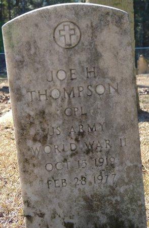 THOMPSON (VETERAN WWII), JOE H (NEW) - Wakulla County, Florida   JOE H (NEW) THOMPSON (VETERAN WWII) - Florida Gravestone Photos