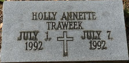 TRAWEEK, HOLLY ANNETTE - Wakulla County, Florida | HOLLY ANNETTE TRAWEEK - Florida Gravestone Photos
