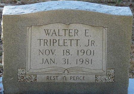 TRIPLETT JR., WALTER EUGENE - Wakulla County, Florida   WALTER EUGENE TRIPLETT JR. - Florida Gravestone Photos