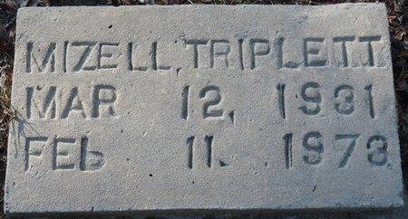 TRIPLETT, MIZELL - Wakulla County, Florida | MIZELL TRIPLETT - Florida Gravestone Photos