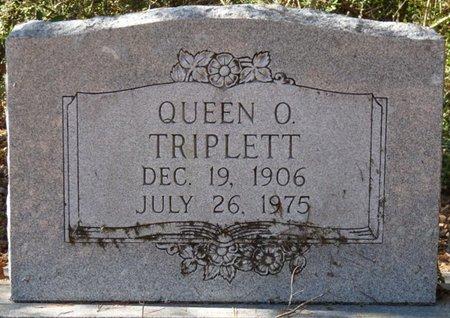 TRIPLETT, QUEEN O - Wakulla County, Florida   QUEEN O TRIPLETT - Florida Gravestone Photos