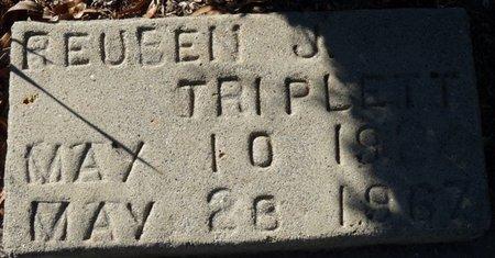 TRIPLETT, REUBEN J - Wakulla County, Florida | REUBEN J TRIPLETT - Florida Gravestone Photos