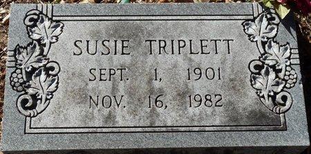 TRIPLETT, SUSIE - Wakulla County, Florida | SUSIE TRIPLETT - Florida Gravestone Photos