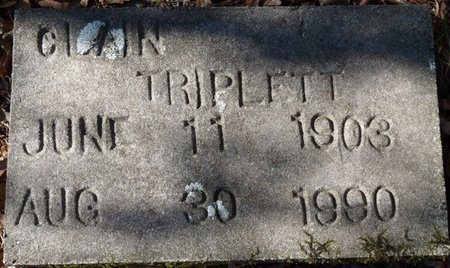 TRIPLETT SR., CLAIN - Wakulla County, Florida   CLAIN TRIPLETT SR. - Florida Gravestone Photos