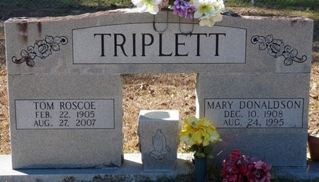 TRIPLETT, TOM ROSCOE - Wakulla County, Florida | TOM ROSCOE TRIPLETT - Florida Gravestone Photos