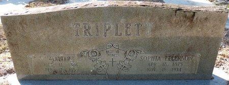 TRIPLETT, SOPHIA - Wakulla County, Florida | SOPHIA TRIPLETT - Florida Gravestone Photos