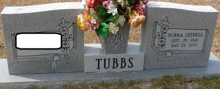 HUDSON TUBBS, NORMA SHERRILL - Wakulla County, Florida | NORMA SHERRILL HUDSON TUBBS - Florida Gravestone Photos