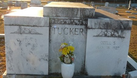 TUCKER, CLIFTON B - Wakulla County, Florida | CLIFTON B TUCKER - Florida Gravestone Photos
