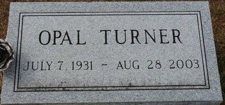 TURNER, OPAL - Wakulla County, Florida | OPAL TURNER - Florida Gravestone Photos