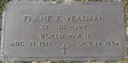 VEASMAN (VETERAN WWII), FRANK K (NEW) - Wakulla County, Florida   FRANK K (NEW) VEASMAN (VETERAN WWII) - Florida Gravestone Photos