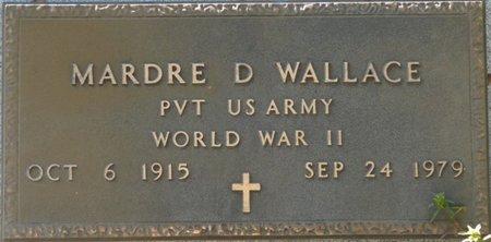 WALLACE (VETERAN WWII), MARDRE D (NEW) - Wakulla County, Florida | MARDRE D (NEW) WALLACE (VETERAN WWII) - Florida Gravestone Photos