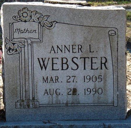 WEBSTER, ANNER L - Wakulla County, Florida | ANNER L WEBSTER - Florida Gravestone Photos