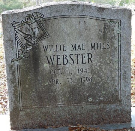 MILLS WEBSTER, WILLIE MAE - Wakulla County, Florida   WILLIE MAE MILLS WEBSTER - Florida Gravestone Photos