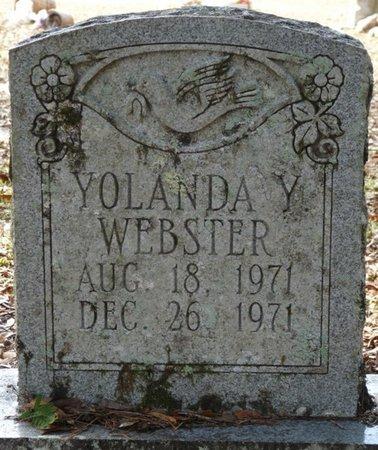 WEBSTER, YOLANDA Y - Wakulla County, Florida | YOLANDA Y WEBSTER - Florida Gravestone Photos