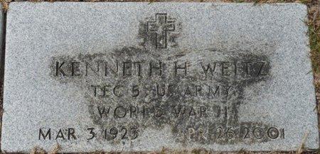 WEITZ (VETERAN WWII), KENNETH H (NEW) - Wakulla County, Florida | KENNETH H (NEW) WEITZ (VETERAN WWII) - Florida Gravestone Photos