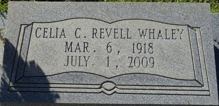 REVELL WHALEY, CELIA C - Wakulla County, Florida | CELIA C REVELL WHALEY - Florida Gravestone Photos