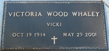 "WOOD WHALEY, VICTORIA ""VICKI"" - Wakulla County, Florida   VICTORIA ""VICKI"" WOOD WHALEY - Florida Gravestone Photos"