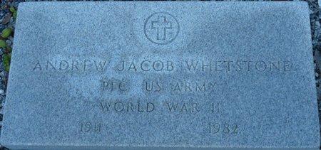 WHETSTONE (VETERAN WWII), ANDREW JACOB (NEW) - Wakulla County, Florida | ANDREW JACOB (NEW) WHETSTONE (VETERAN WWII) - Florida Gravestone Photos