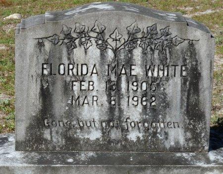 WHITE, FLORIDA MAE - Wakulla County, Florida   FLORIDA MAE WHITE - Florida Gravestone Photos