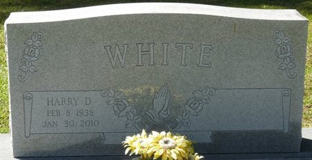 WHITE, HARRY D - Wakulla County, Florida | HARRY D WHITE - Florida Gravestone Photos
