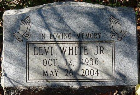 WHITE JR., LEVI - Wakulla County, Florida | LEVI WHITE JR. - Florida Gravestone Photos