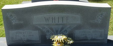 WHITE, FLORIDA - Wakulla County, Florida | FLORIDA WHITE - Florida Gravestone Photos