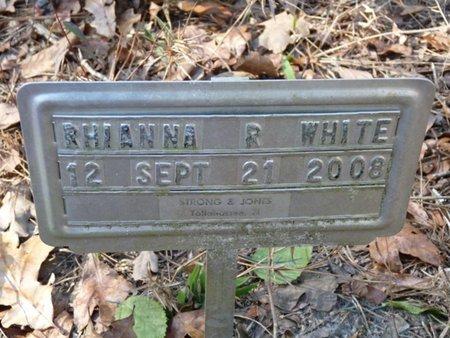 WHITE, RHIANNA RENEE - Wakulla County, Florida   RHIANNA RENEE WHITE - Florida Gravestone Photos