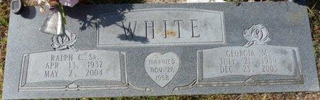 WHITE SR., RALPH C - Wakulla County, Florida | RALPH C WHITE SR. - Florida Gravestone Photos