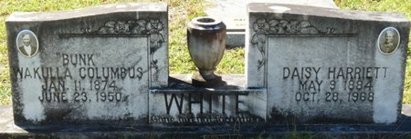 WHITE, DAISY HARRIETT - Wakulla County, Florida | DAISY HARRIETT WHITE - Florida Gravestone Photos