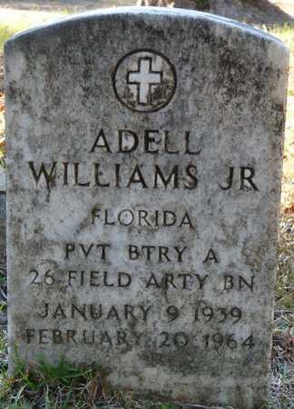 WILLIAMS JR. (VETERAN), ADELL (NEW) - Wakulla County, Florida | ADELL (NEW) WILLIAMS JR. (VETERAN) - Florida Gravestone Photos