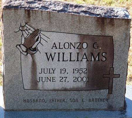 WILLIAMS, ALONZO GILBERT - Wakulla County, Florida   ALONZO GILBERT WILLIAMS - Florida Gravestone Photos