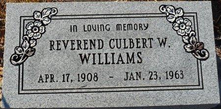 WILLIAMS, CULBERT W - Wakulla County, Florida | CULBERT W WILLIAMS - Florida Gravestone Photos