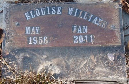 WILLIAMS, ELOUISE - Wakulla County, Florida | ELOUISE WILLIAMS - Florida Gravestone Photos
