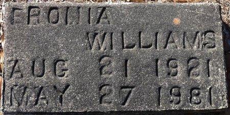 WILLIAMS, ERONIA - Wakulla County, Florida | ERONIA WILLIAMS - Florida Gravestone Photos