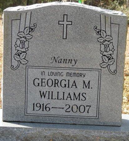 "WILLIAMS, GEORGIA MAE ""NANNY"" - Wakulla County, Florida | GEORGIA MAE ""NANNY"" WILLIAMS - Florida Gravestone Photos"