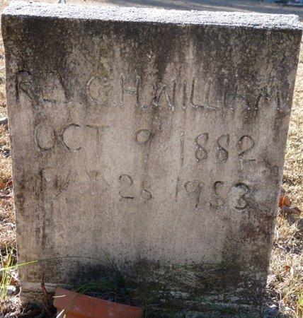 WILLIAMS, G.H. - Wakulla County, Florida   G.H. WILLIAMS - Florida Gravestone Photos