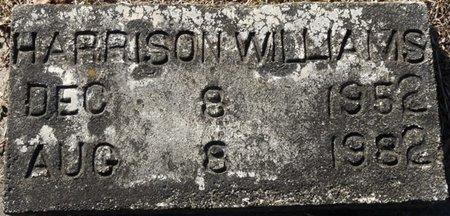 WILLIAMS, HARRISON - Wakulla County, Florida | HARRISON WILLIAMS - Florida Gravestone Photos