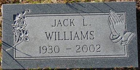 WILLIAMS, JACK L - Wakulla County, Florida   JACK L WILLIAMS - Florida Gravestone Photos
