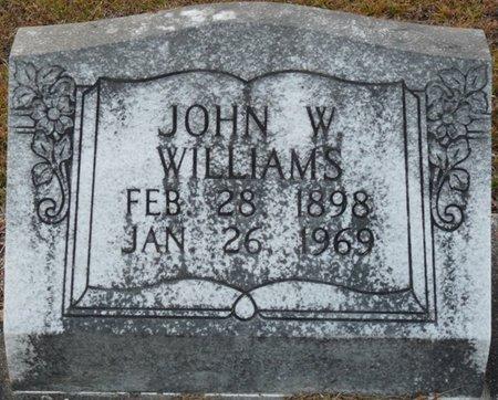 WILLIAMS, JOHN W - Wakulla County, Florida | JOHN W WILLIAMS - Florida Gravestone Photos