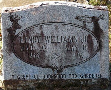 WILLIAMS JR., HENRY - Wakulla County, Florida | HENRY WILLIAMS JR. - Florida Gravestone Photos