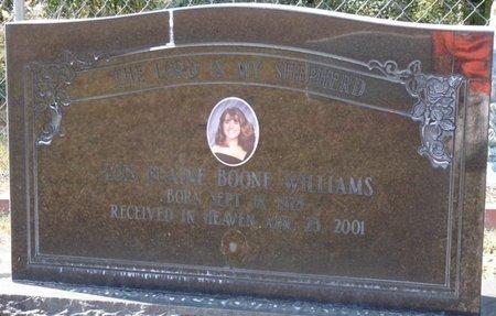 BOONE WILLIAMS, LOIS ELAINE - Wakulla County, Florida   LOIS ELAINE BOONE WILLIAMS - Florida Gravestone Photos