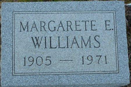 WILLIAMS, MARGARETE E - Wakulla County, Florida   MARGARETE E WILLIAMS - Florida Gravestone Photos