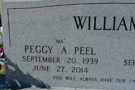 PEEL WILLIAMS, PEGGY A. - Wakulla County, Florida | PEGGY A. PEEL WILLIAMS - Florida Gravestone Photos