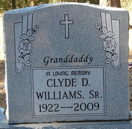 WILLIAMS SR., CLYDE DAVID - Wakulla County, Florida   CLYDE DAVID WILLIAMS SR. - Florida Gravestone Photos