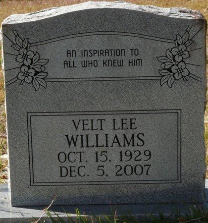 WILLIAMS, VELT LEE - Wakulla County, Florida   VELT LEE WILLIAMS - Florida Gravestone Photos