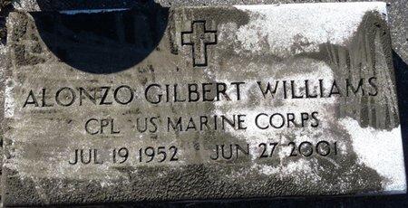 WILLIAMS (VETERAN), ALONZO GILBERT (NEW) - Wakulla County, Florida   ALONZO GILBERT (NEW) WILLIAMS (VETERAN) - Florida Gravestone Photos