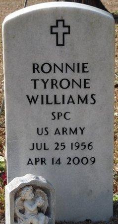 WILLIAMS (VETERAN), RONNIE TYRONE (NEW) - Wakulla County, Florida | RONNIE TYRONE (NEW) WILLIAMS (VETERAN) - Florida Gravestone Photos