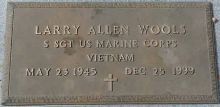 WOOLS (VETERAN VIET), LARRY ALLEN (NEW) - Wakulla County, Florida   LARRY ALLEN (NEW) WOOLS (VETERAN VIET) - Florida Gravestone Photos